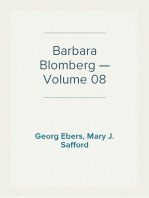 Barbara Blomberg — Volume 08