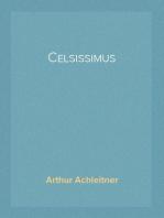 Celsissimus Salzburger Roman