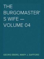 The Burgomaster's Wife — Volume 04