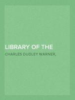 Library of the World's Best Literature, Ancient and Modern — Volume 11
