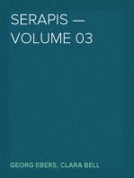 Serapis — Volume 03