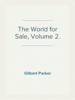 The World for Sale, Volume 2.