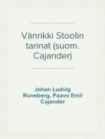 Vänrikki Stoolin tarinat (suom. Cajander)