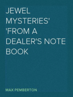Jewel Mysteries From a Dealer's Note Book
