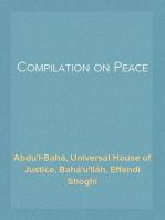 Compilation on Peace