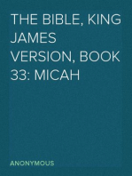 The Bible, King James version, Book 33