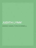 Judith Lynn A Story of the Sea