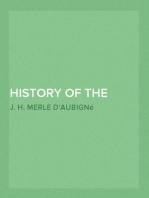 History of the Reformation in the Sixteenth Century, Volume V The Reformation in England