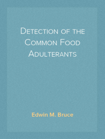 Detection of the Common Food Adulterants
