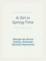 A Girl in Spring-Time