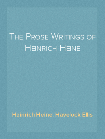 The Prose Writings of Heinrich Heine