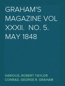 Graham's Magazine Vol XXXII.  No. 5.  May 1848