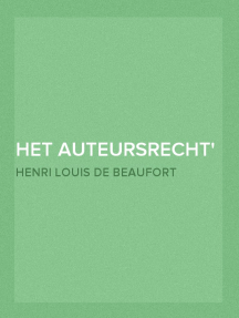 Het Auteursrecht in het Nederlandsche en internationale recht