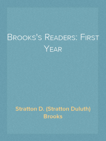 Brooks's Readers: First Year