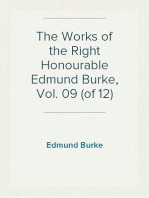 The Works of the Right Honourable Edmund Burke, Vol. 09 (of 12)