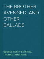 The Brother Avenged, and Other Ballads