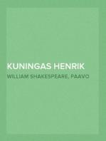 Kuningas Henrik Neljäs I