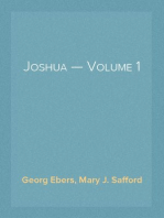 Joshua — Volume 1