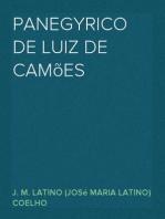 Panegyrico de Luiz de Camões
