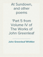 At Sundown, and other poems