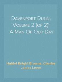 Davenport Dunn, Volume 2 (of 2) A Man Of Our Day
