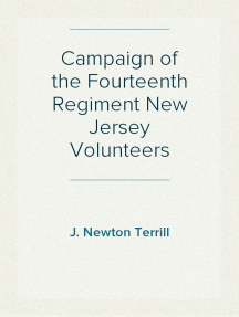 Campaign of the Fourteenth Regiment New Jersey Volunteers