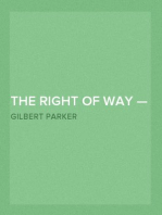 The Right of Way — Volume 03