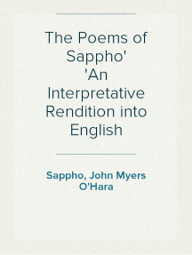 The Poems of Sappho An Interpretative Rendition into English
