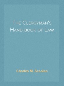The Clergyman's Hand-book of Law