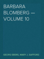 Barbara Blomberg — Volume 10