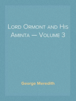 Lord Ormont and His Aminta — Volume 3