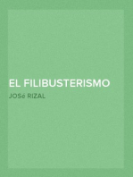 El Filibusterismo (Continuación del Noli me tángere)