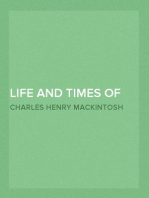 Life and Times of David Miscellaneous Writings of C. H. Mackintosh, volume VI
