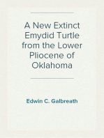 A New Extinct Emydid Turtle from the Lower Pliocene of Oklahoma