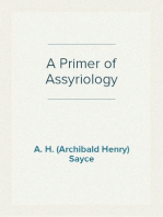 A Primer of Assyriology
