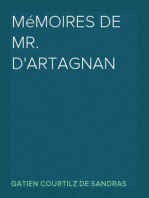 Mémoires de Mr. d'Artagnan