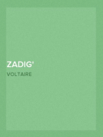 Zadig Or, The Book of Fate