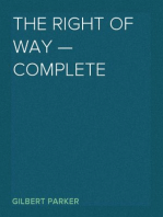 The Right of Way — Complete