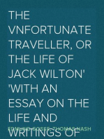 The Vnfortunate Traveller, or The Life Of Jack Wilton With An Essay On The Life And Writings Of Thomas Nash By Edmund Gosse
