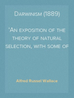 Darwinism (1889)