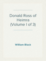 Donald Ross of Heimra (Volume I of 3)