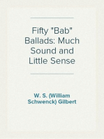 "Fifty ""Bab"" Ballads"