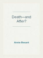 Death—and After?