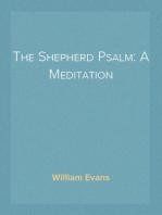 The Shepherd Psalm
