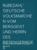Rübezahl Deutsche Volksmärchen vom Berggeist und Herrn des Riesengebirges