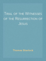 Trial of the Witnesses of the Resurrection of Jesus