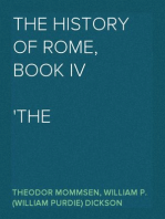 The History of Rome, Book IV The Revolution