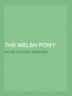 The Welsh Pony Described in two letters to a friend