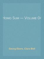 Homo Sum — Volume 04