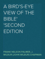 A Bird's-Eye View of the Bible Second Edition